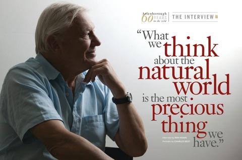 David Attenborough wonderful world - ein Film von Sir David Attenborough über soziale Kompetenz und Dankbarkeit - www.mind-factor.com